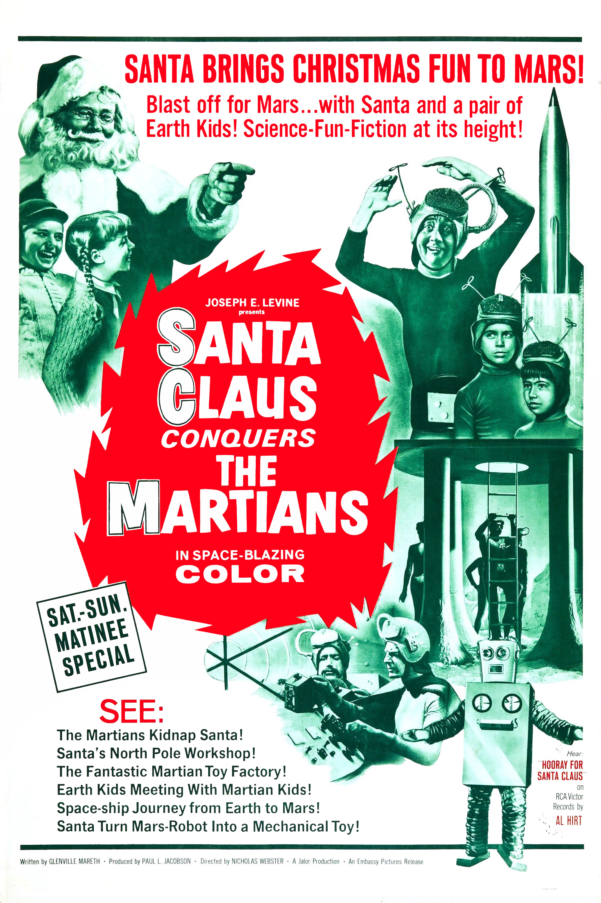 Santa claus conquers the martians 1964 avi