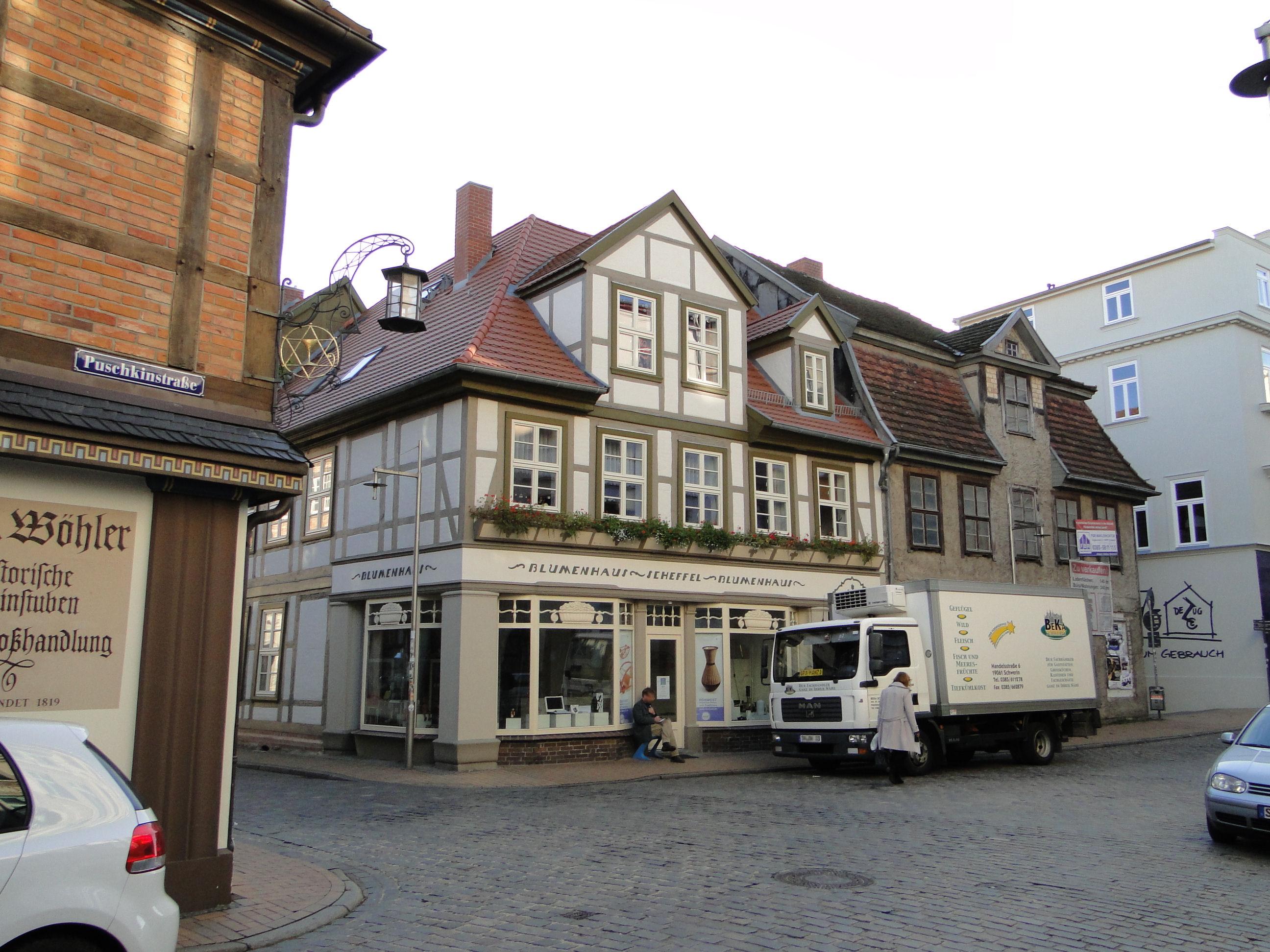 Schwerin Puschkinstraße