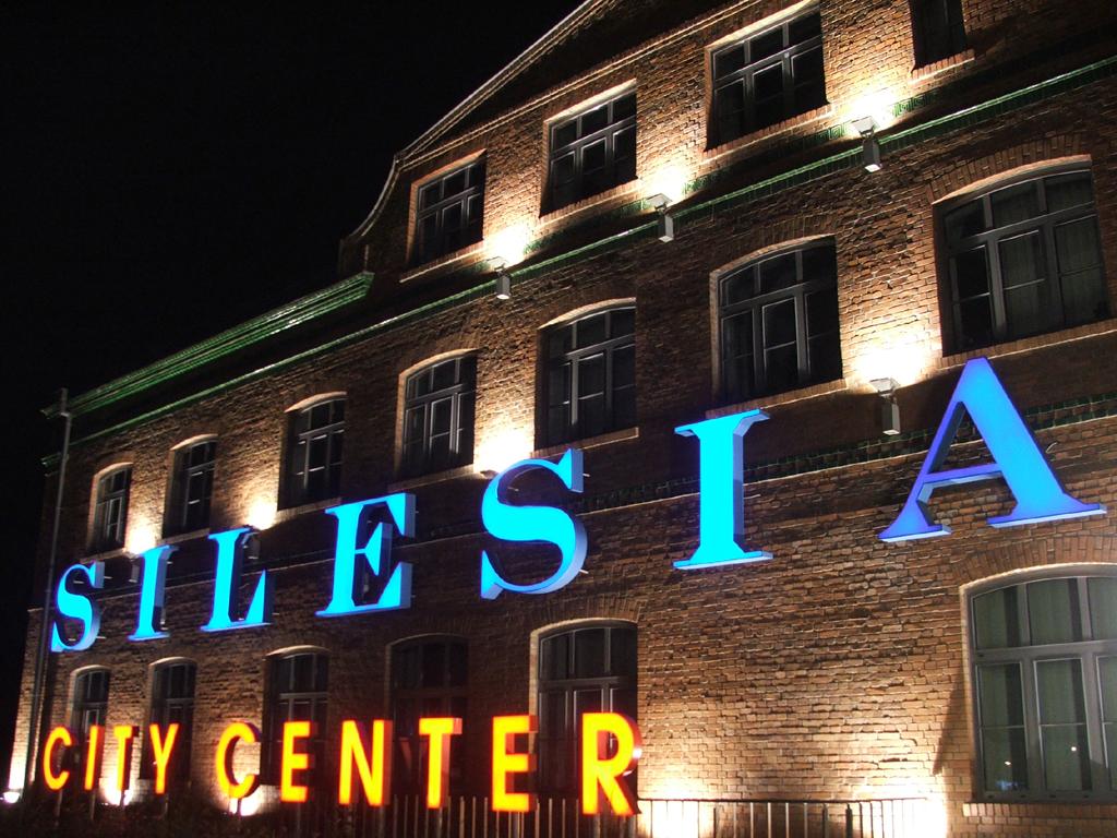 Silesia city center night.jpg