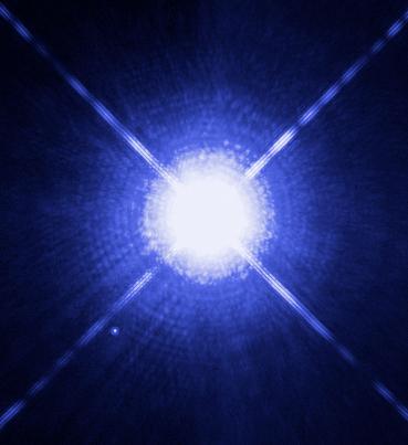 Depiction of Estrella binaria