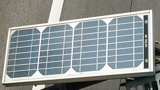 Een zonnepaneel, Einstein aan het werk.