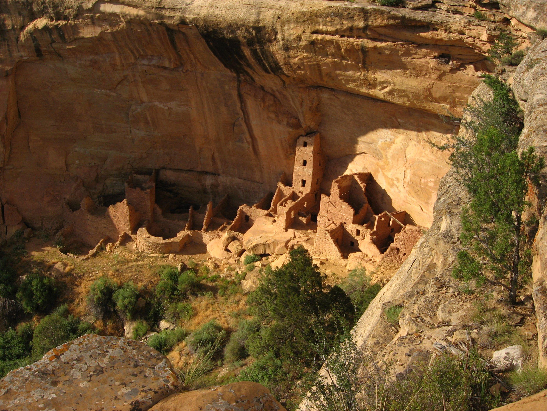 File:Square Tower House, Mesa Top Loop Road, Mesa Verde National Park (
