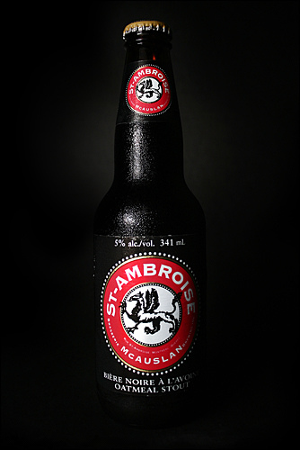 St. Ambroise Oatmeal Stout by http://commons.wikimedia.org/wiki/User:Quibik via http://commons.wikimedia.org/wiki/File:St-Ambroise_Noire.jpg