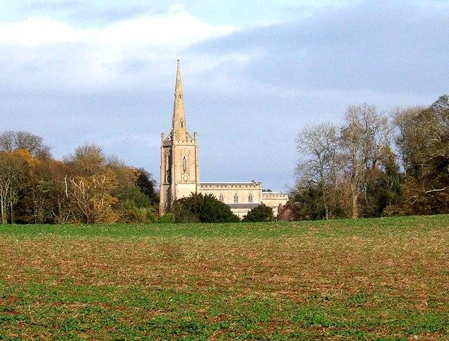 St Andrew's parish church, Ombersley, Worcestershire