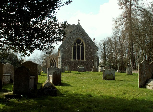 St. Mary's church, Brent Eleigh, Suffolk - geograph.org.uk - 151816