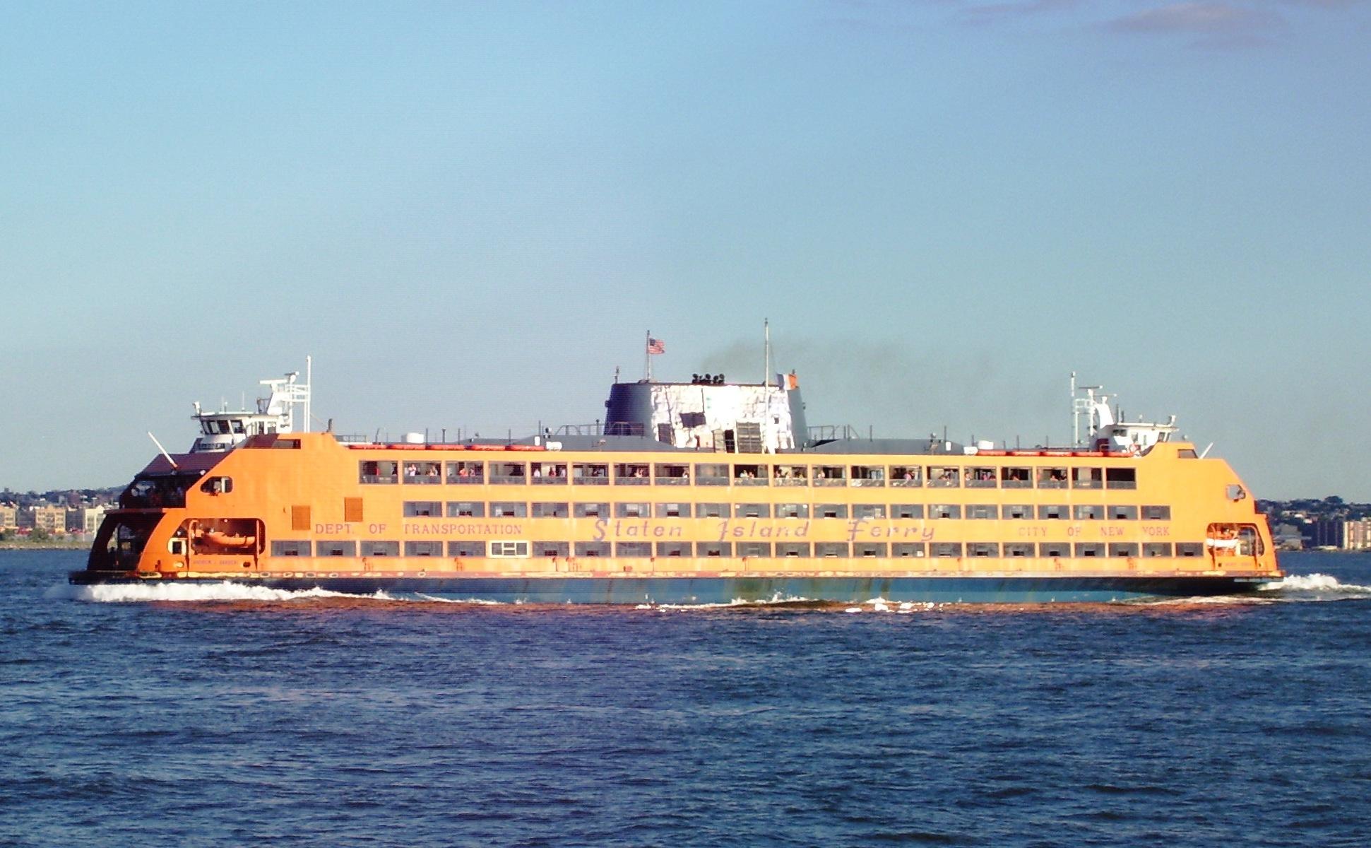 Ferry Boat Manhattan Staten Island