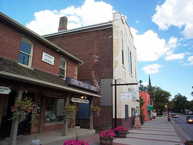 A view of Streetsville