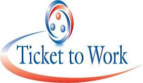 English: Ticket To Work Logo