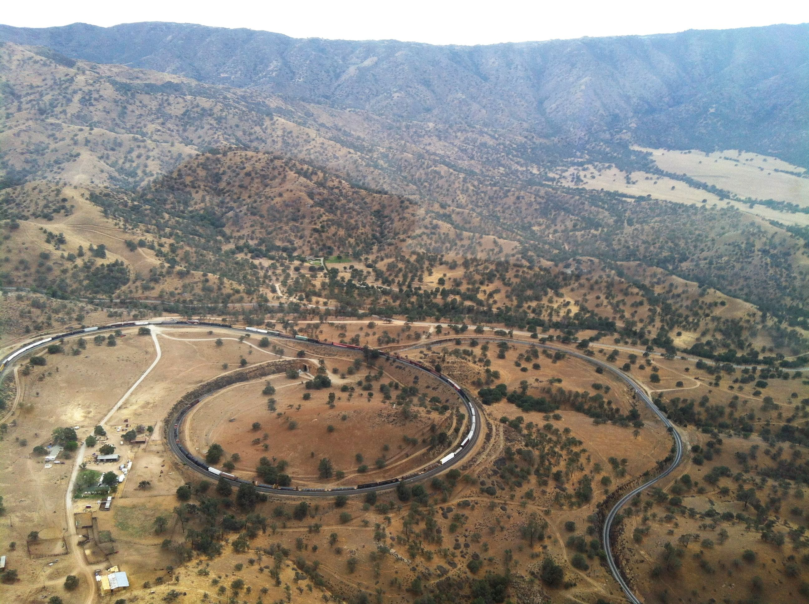 File Tehachapi Loop Seen From Ne June 2013 Jpg