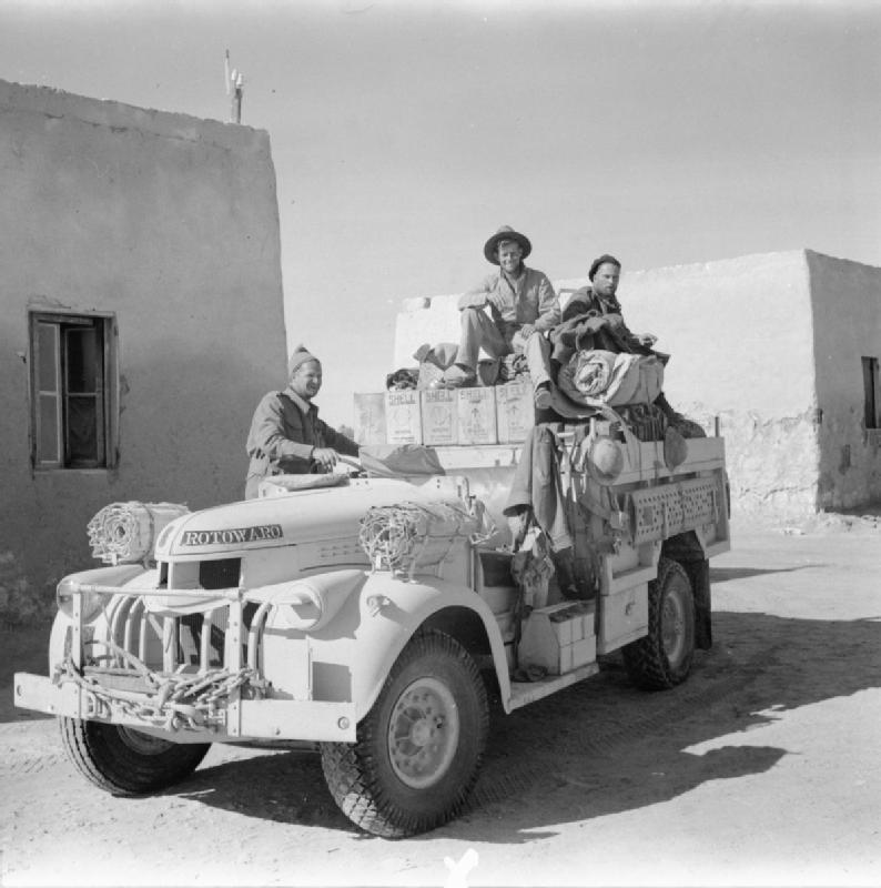 File The Long Range Desert Group Lrdg In North Africa During The