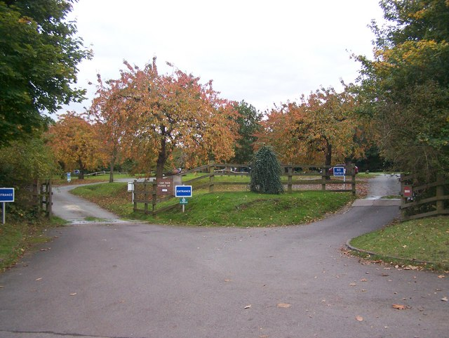 The Orchard Carpark in Capstone Country Park - geograph.org.uk - 1014986