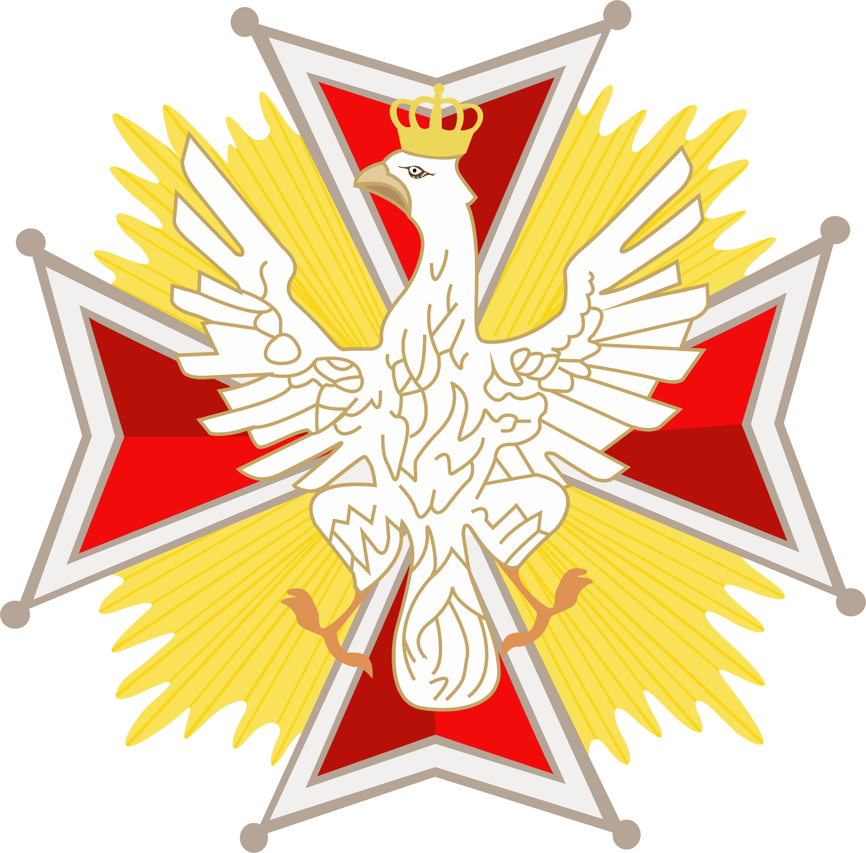 File:The Order of the White Eagle png - Wikimedia Commons