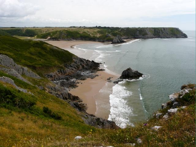 File:Three Cliffs Bay - geograph.org.uk - 869888.jpg
