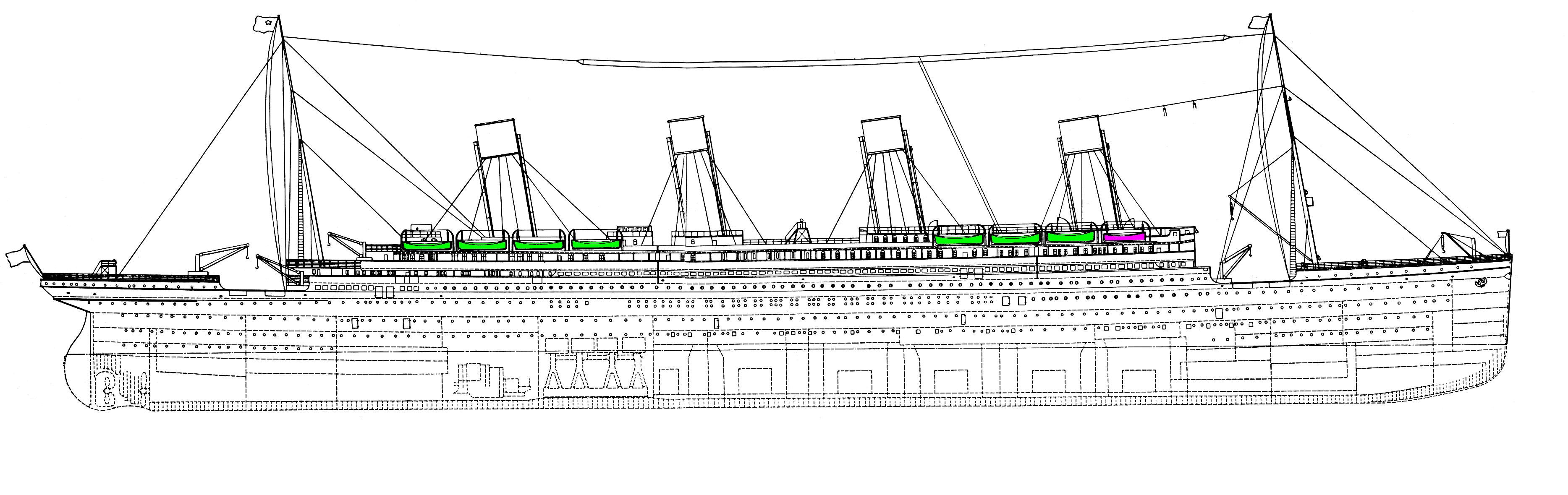 Disegni titanic forum modellismo for Disegnare progetti