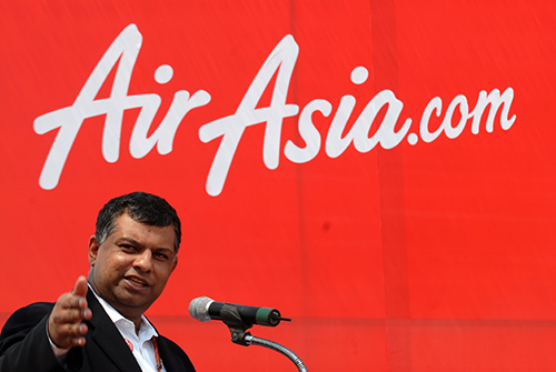 air asia with tony fernandes The cbi has registered a case against airasia airline ceo tony fernandes and  others for violation of certain international aviation rules,.