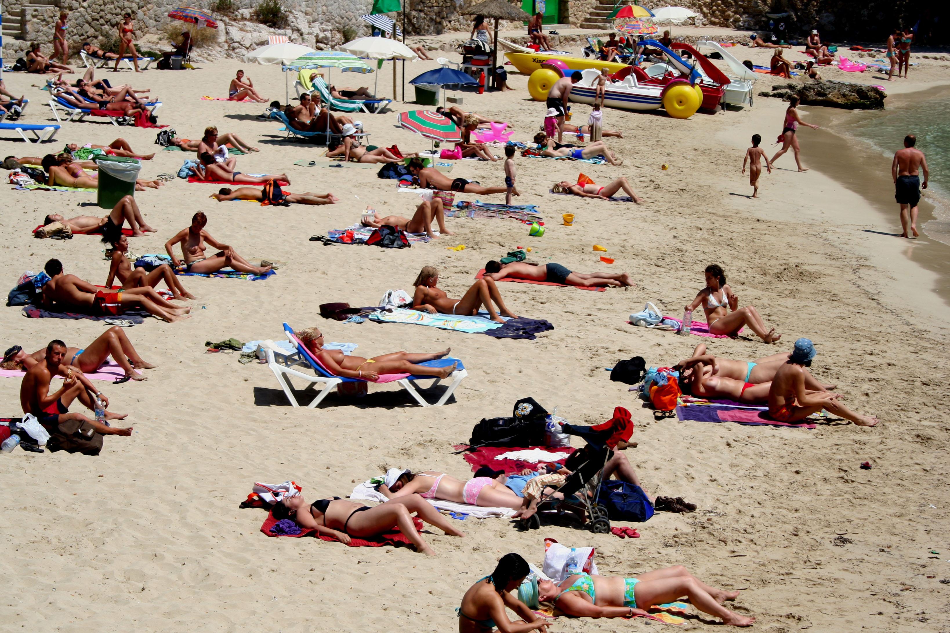Nudist beaches in mallorca