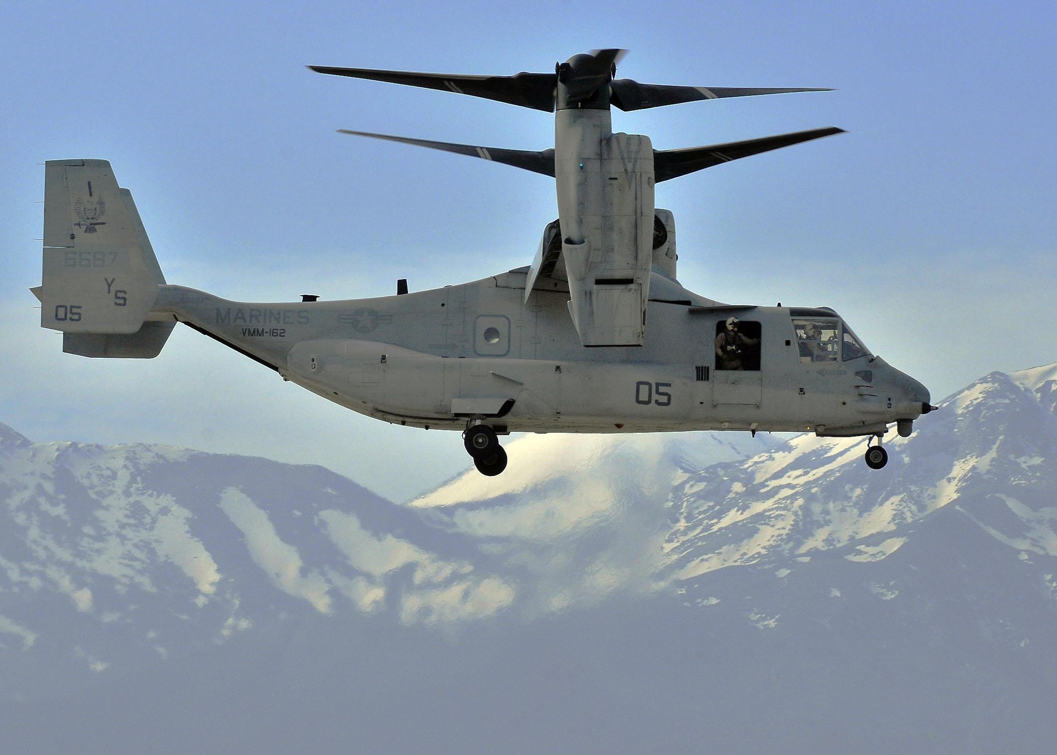 File:US Navy 100224-N-0780F-002 A V-22 Osprey, assigned to ...