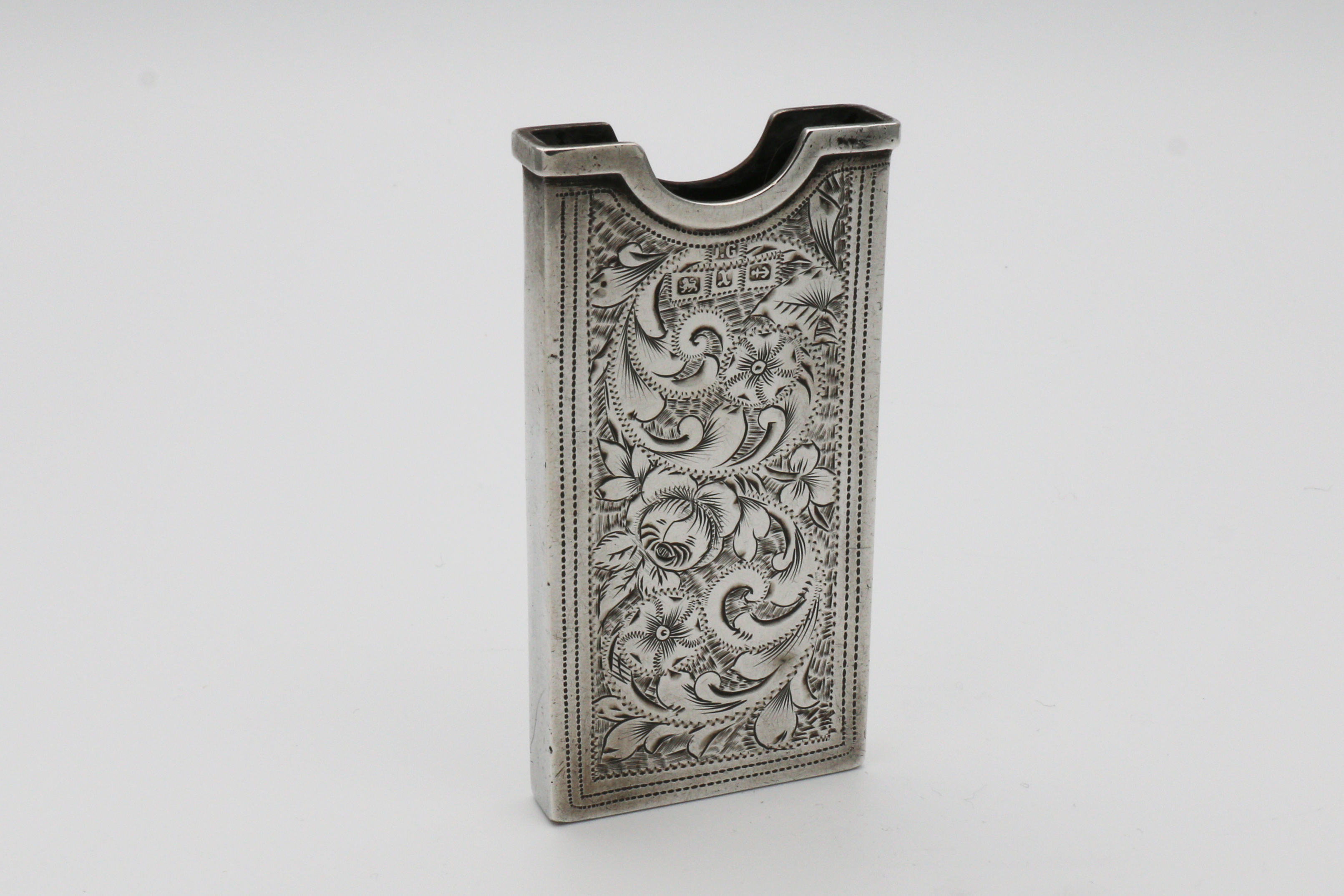 Victorian Silver Visiting Card Case