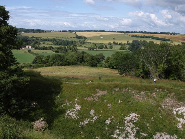 View from Old Sarum - geograph.org.uk - 1400473