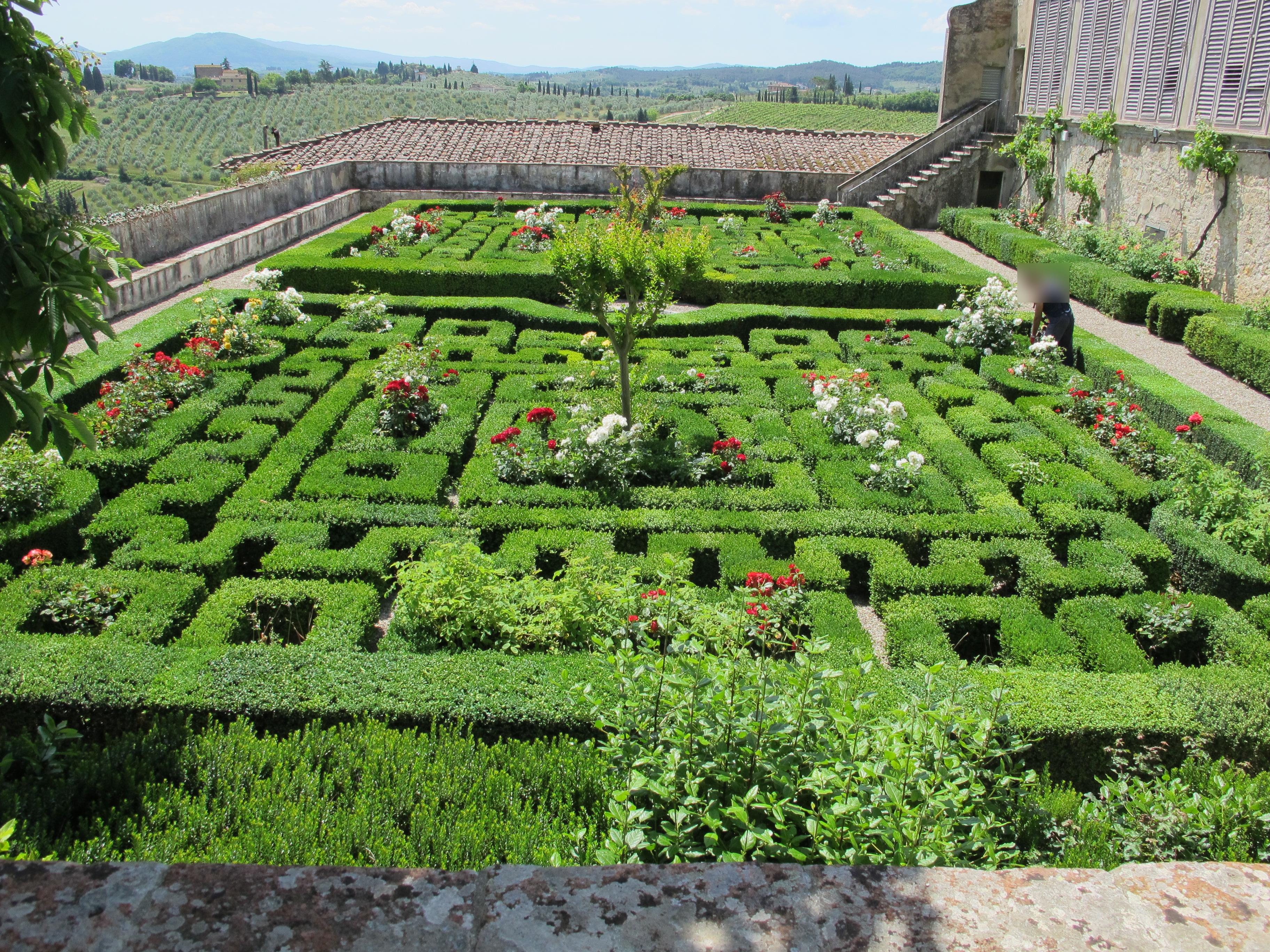 File Villa Corsini Di Mezzomonte Giardino All Italiana