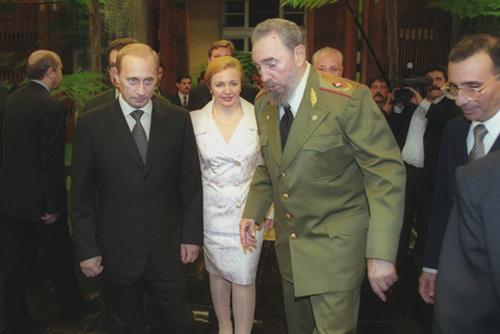 Встреча Фиделя Кастро с Президентом России В.В.Путиным. Декабрь 2000 года