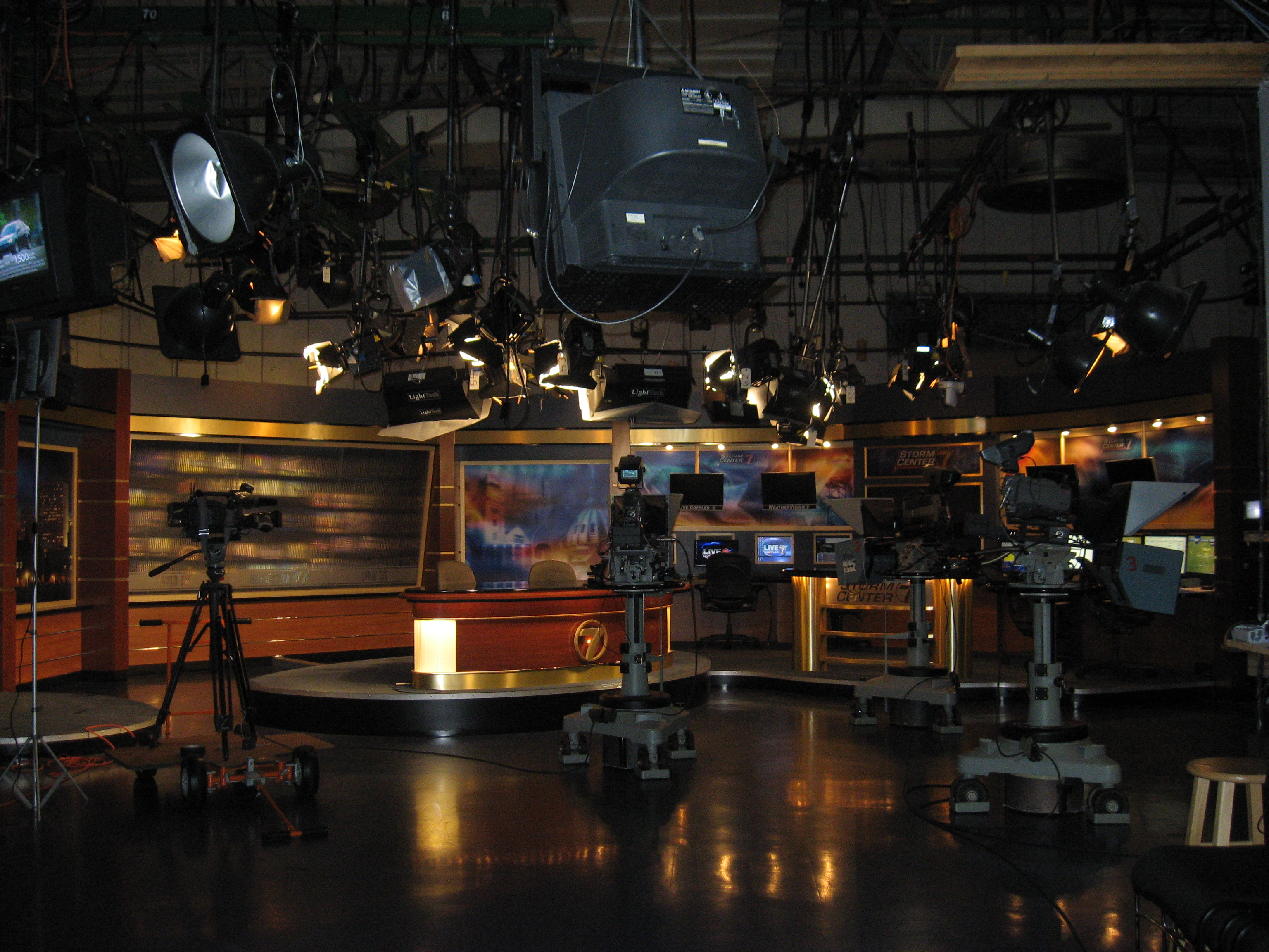 File:WHIO-TV News Set Kettering OH USA.JPG