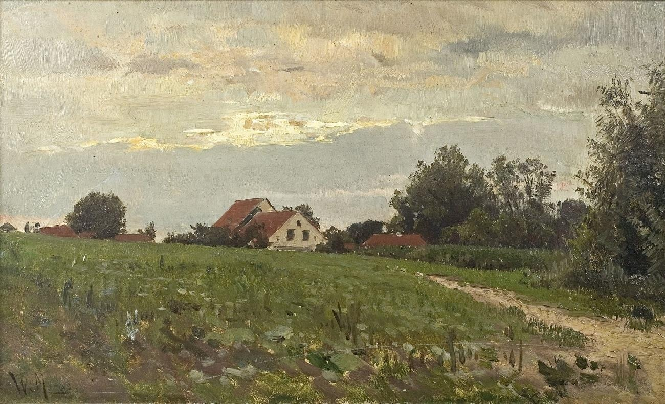Bilder Mit Häusern file walter moras landschaft mit häusern jpg wikimedia commons