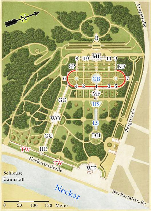 Wilhelma Plan