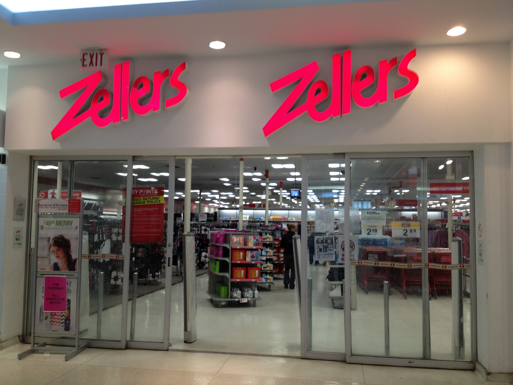 zellers wikipedia autos post