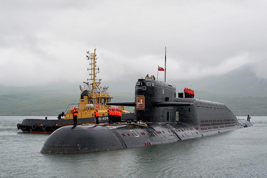 Подводные лодки проекта 667БДР «Кальмар» — Википедия