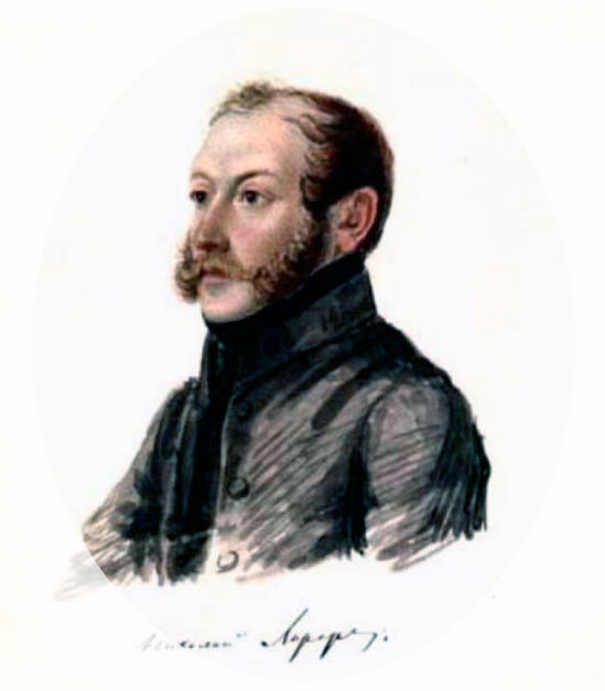 Николай-Иванович-Лорер.-Акварель-Н.А.Бестужева.-1832-1833.jpg