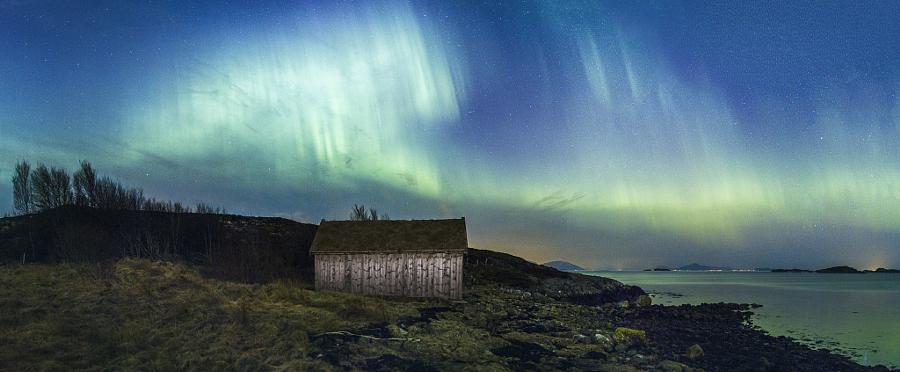 Северное сияние, Норвегия.jpg