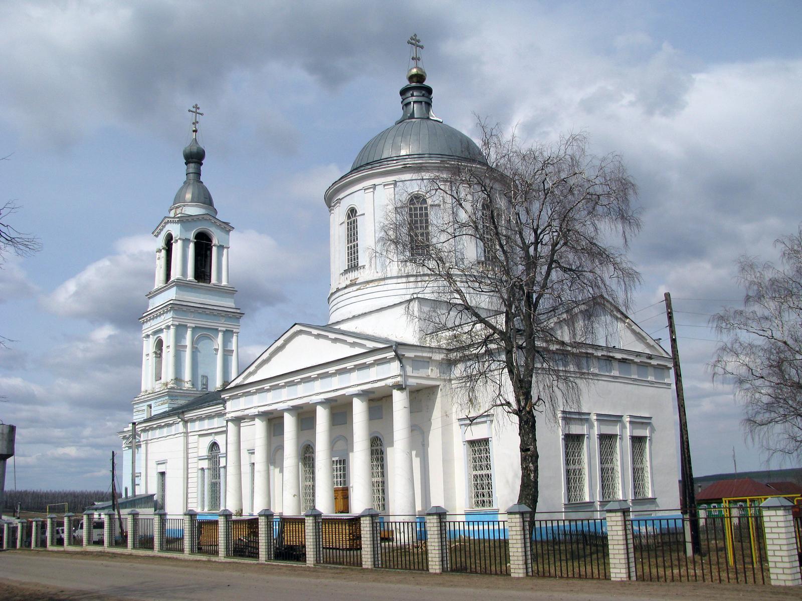 Церковь Успения Пресвятой Богородицы в Суворово.