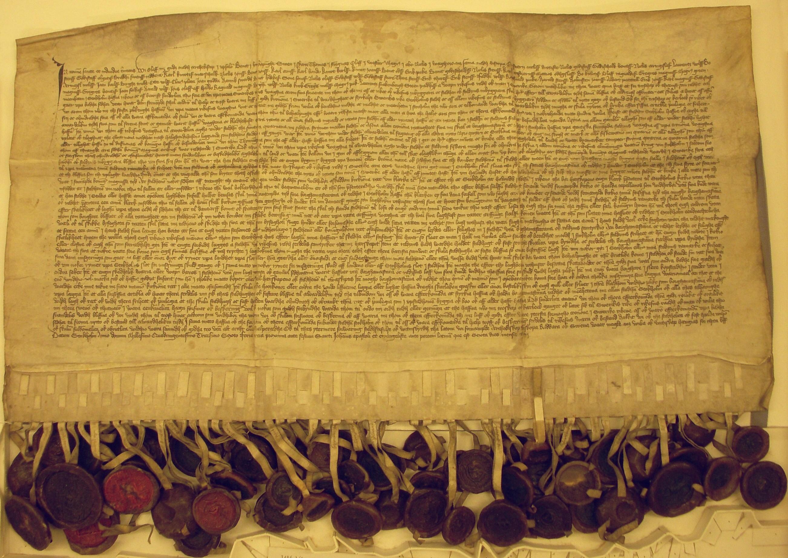 1436-05-01, privilegiebrevet för Stockholm.jpg
