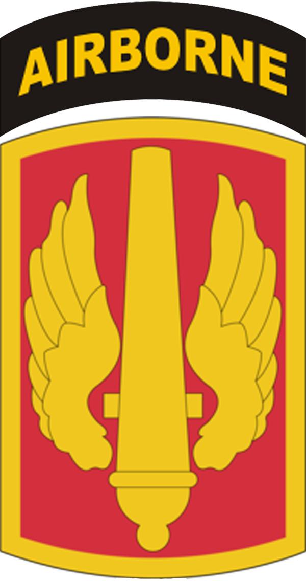 18th fires brigade combat service identification badge | usamm.