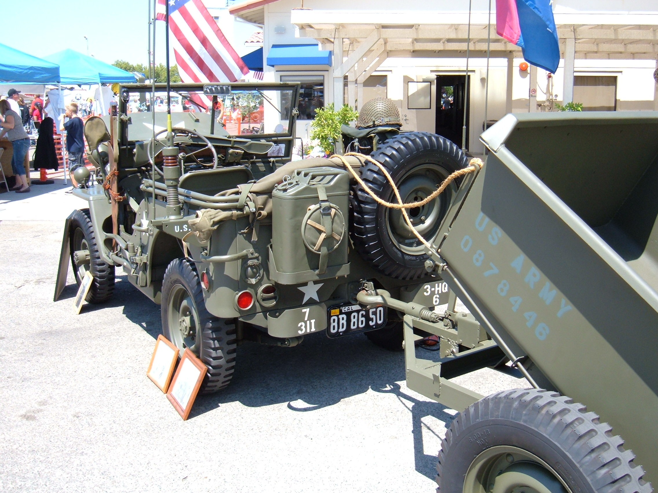 File 1945 Willys Jeep With Trailer 4 Jpg Wikimedia Commons