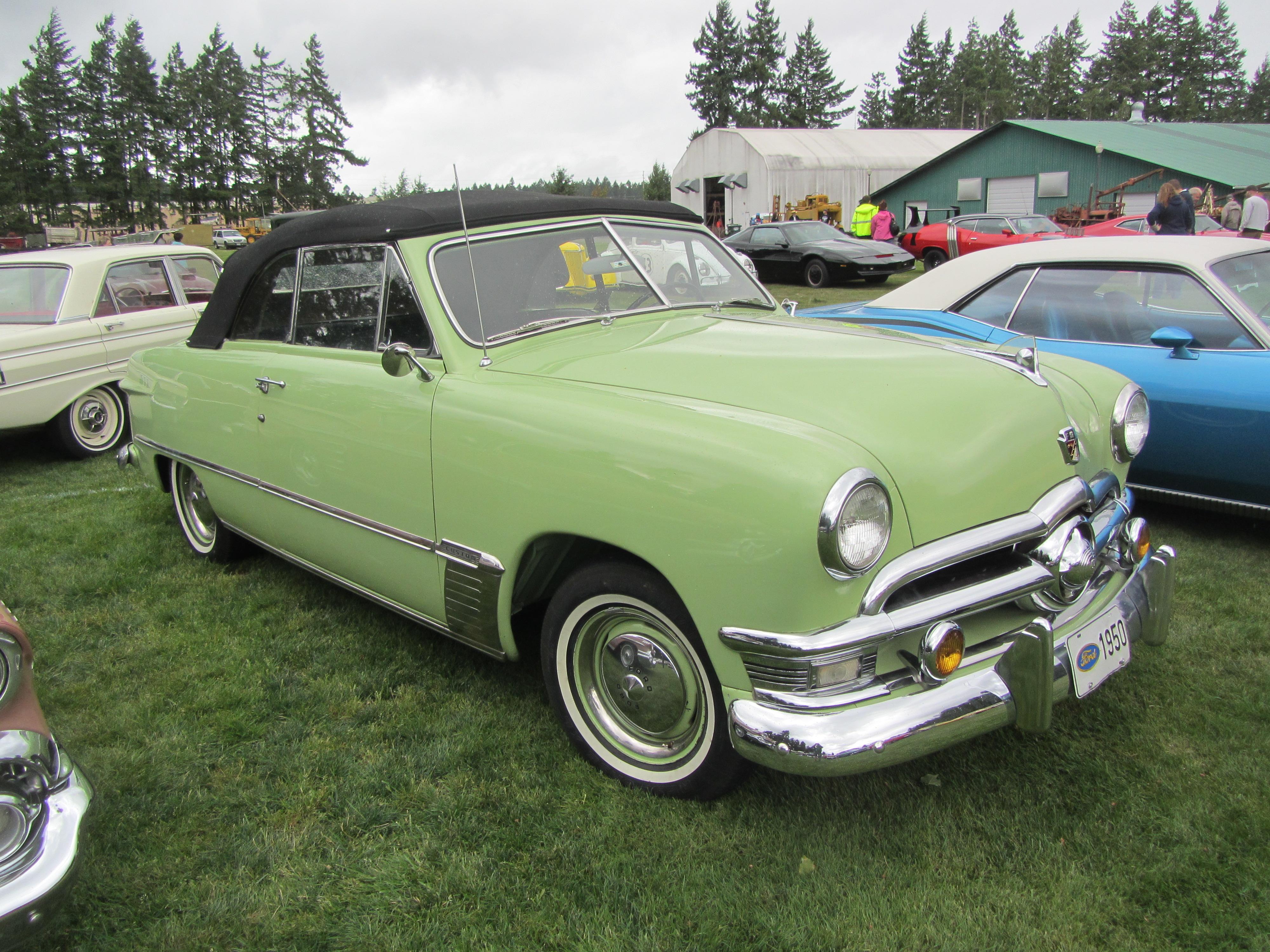 File 1950 Ford Custom Convertible 22186303311 Jpg Wikimedia Commons