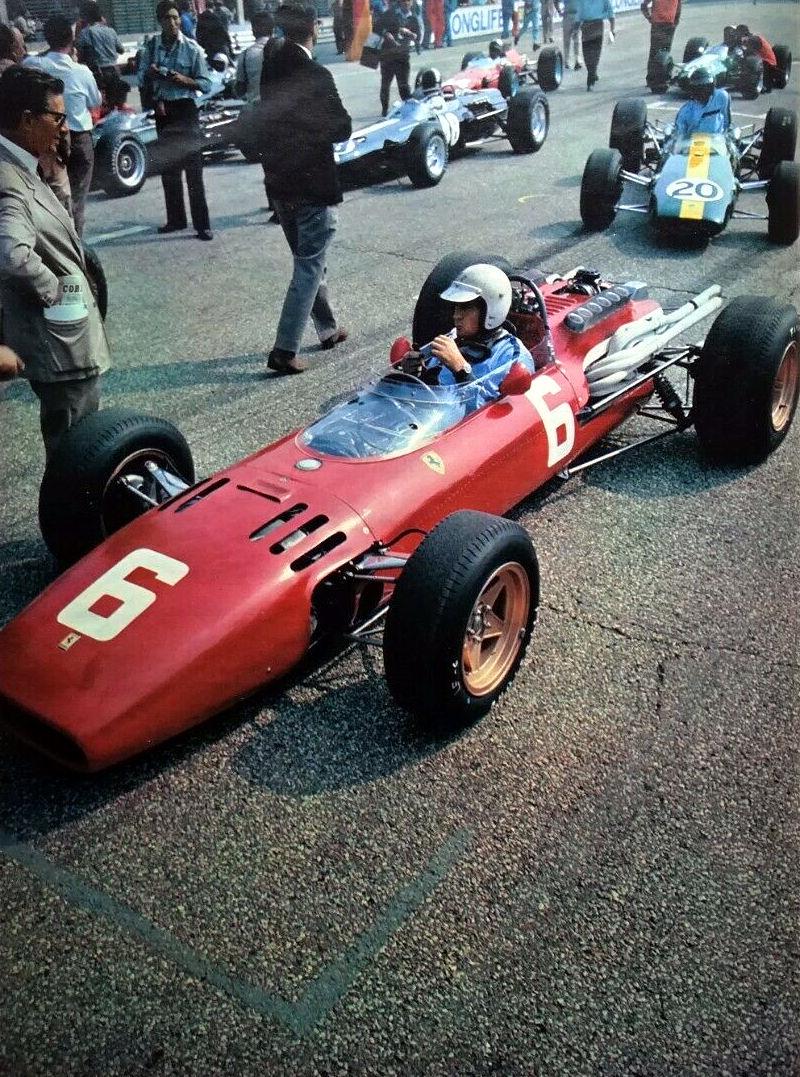 File 1966 Italian Gp Ludovico Scarfiotti S Ferrari 312 F1 66 Jpg Wikimedia Commons