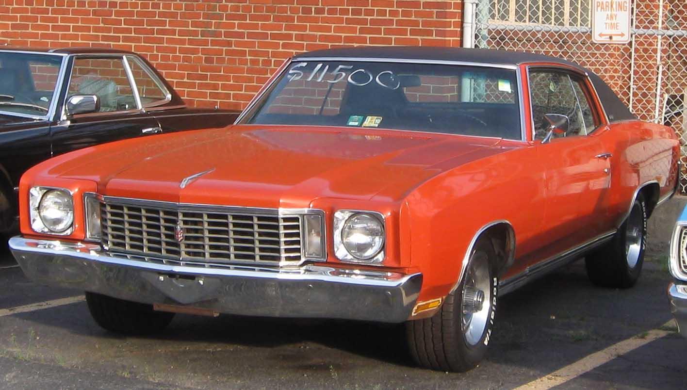 File1972 Chevrolet Monte Carlo 2  07222010jpg  Wikimedia