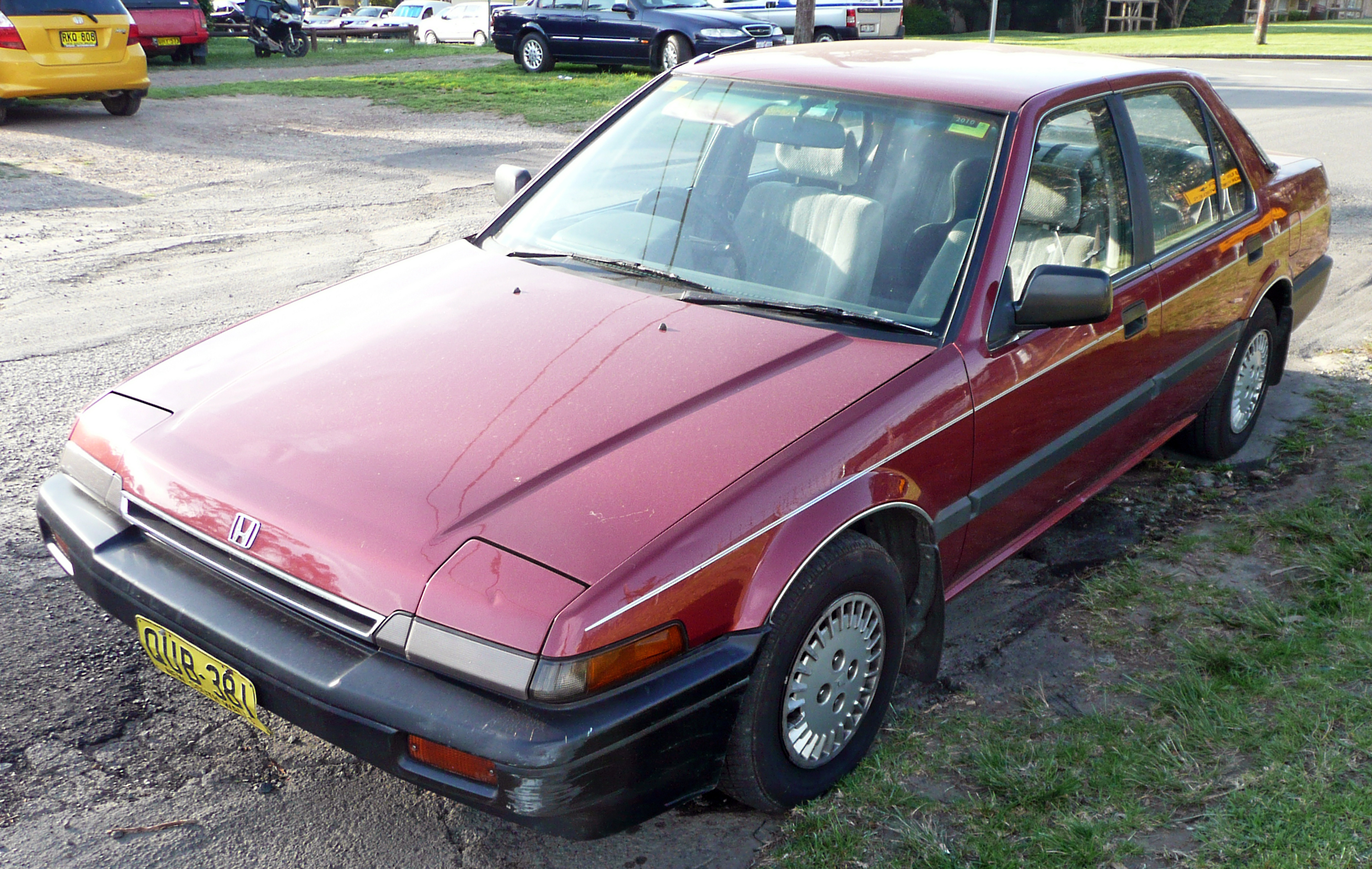 File:1987 Honda Accord EX sedan 01.jpg - Wikimedia Commons