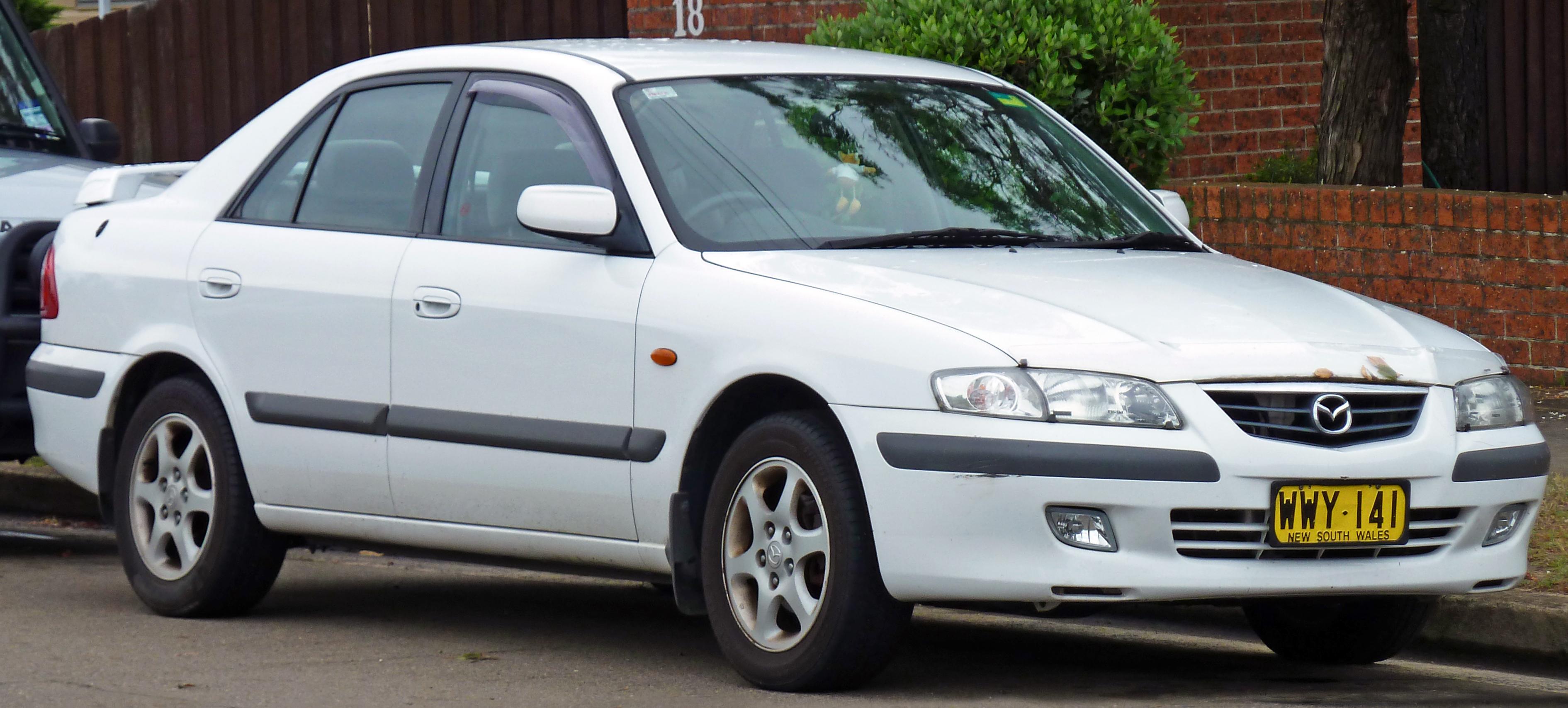 File 2000 Mazda 626  Gf Series 2  Classic Sedan  2010