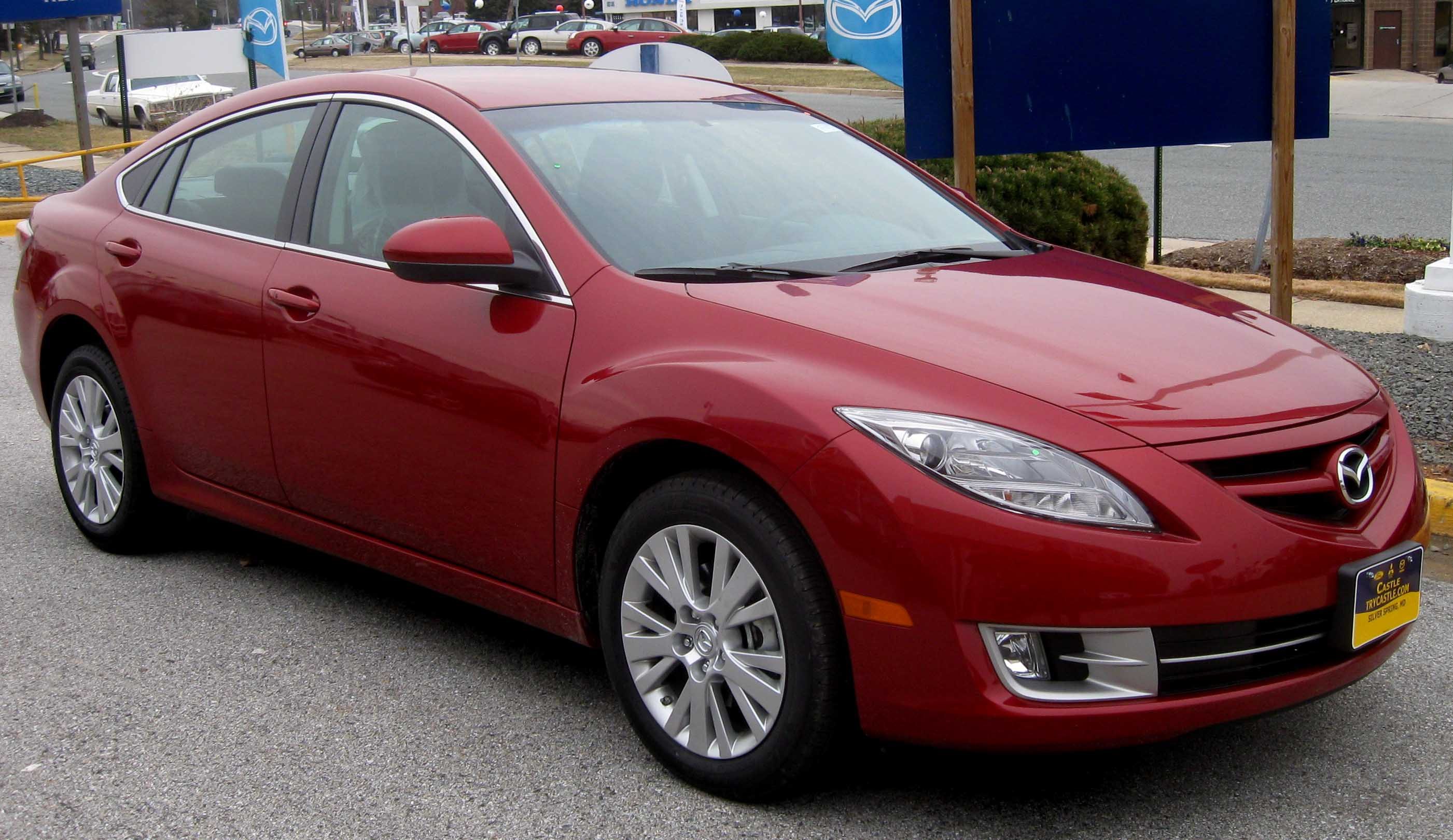 File:2009 Mazda6 i Touring.jpg - Wikimedia Commons