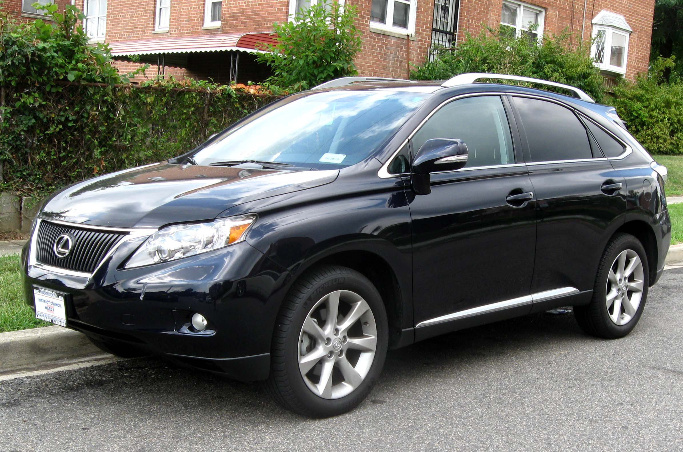 Rx 350 7 Seater >> File:2010 Lexus RX350 3 -- 08-14-2009.jpg - Wikimedia Commons