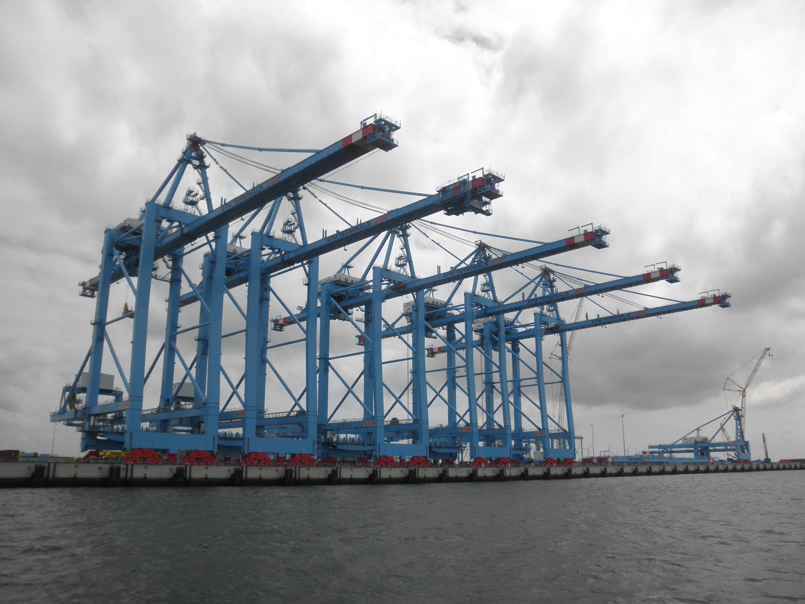 File Apm Terminal Super Post Containercranes Rotterdam Jpg