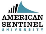 English: American Sentinel University logo