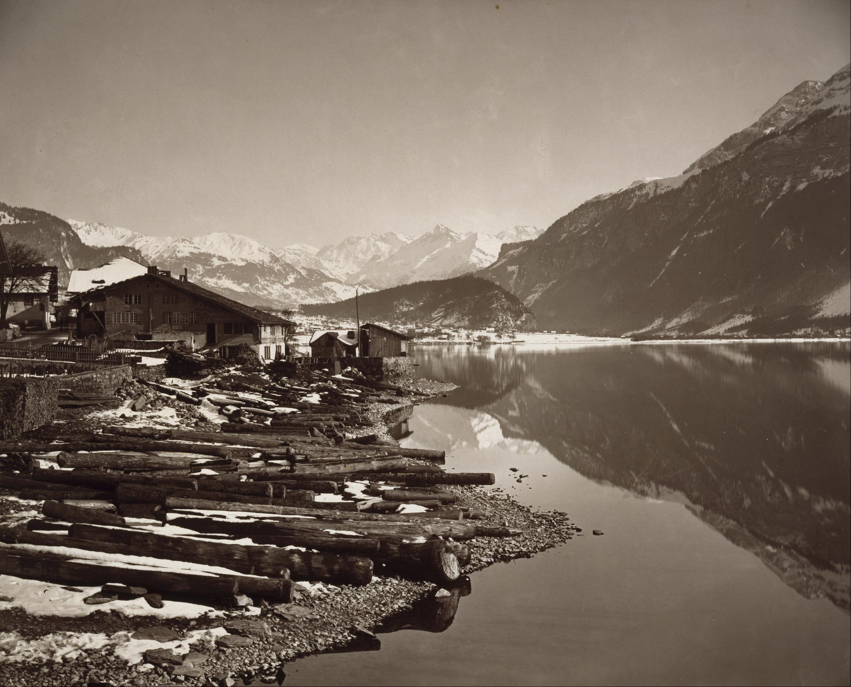 File adolphe braun lac de brienz google art project - Lac de brienz ...