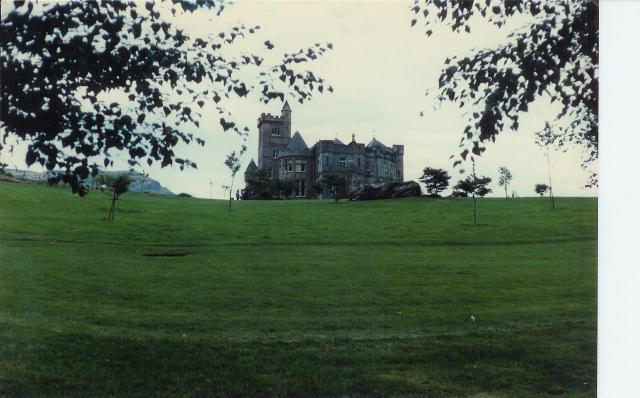 Airthrey Castle.