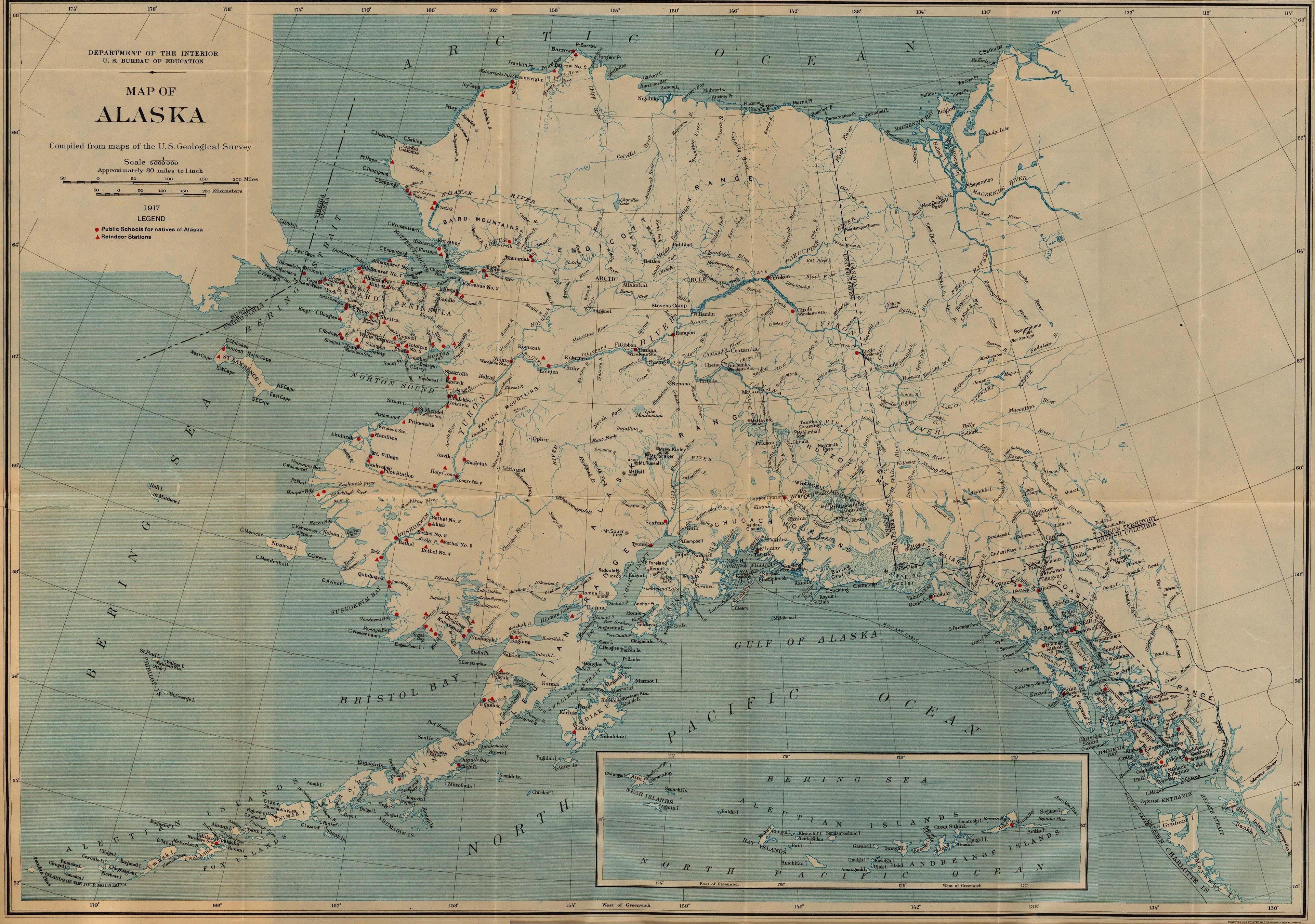 Department Of The Interior Organizational Chart: Alaska stations 1917.jpg - Wikimedia Commons,Chart