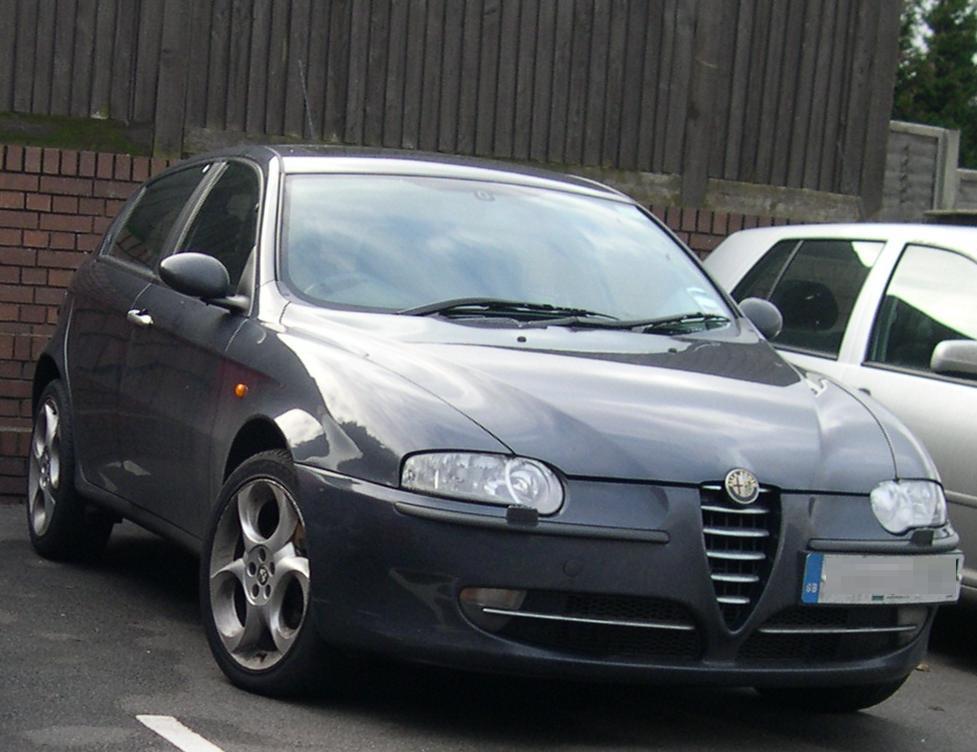 Alfa Romeo 147 – Wikipedia