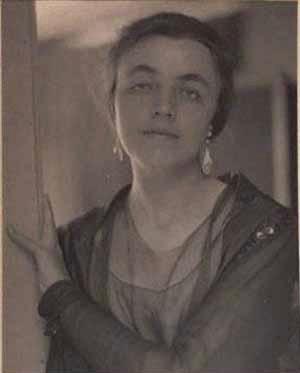 Alfred Stieglitz, Katharine Rhoades, 1915, 10x8 platinum